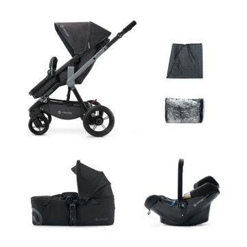 Коляска 3 в 1 Concord Wanderer Mobility Set (Raven Black 2015)