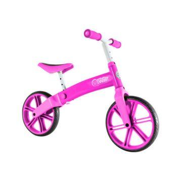 Беговел Y-Volution Velo Balance (розовый)