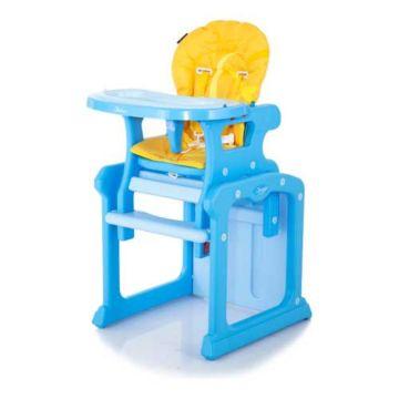 Стульчик для кормления Jetem Gracia Blue/Yellow
