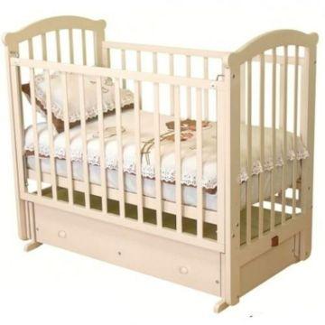Кроватка детская Можга Ирина С 625 (поперечный маятник) (слоновая кость)