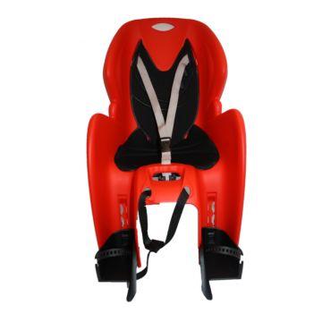 Велокресло на багажник Dieffe GP Classic до 22 кг (красное)
