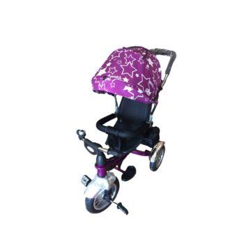 Трехколесный велосипед Farfello TSTX6588 (Фиолетовые звезды)