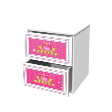Тумба с ящиками Кроватка5 Принцесса