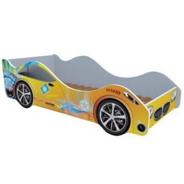 Кровать-машина Кроватка5 Машинки (Энергия желтая)