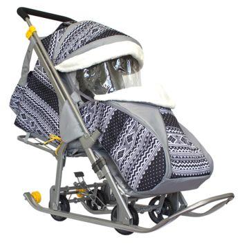Санки-коляска Galaxy Luxe Финляндия