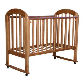 Кроватка детская Кедр Любаша 1 (качалка-колесо) (бук)