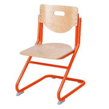 Растущий стул Астек SK-2 (береза/оранжевый)