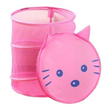 Корзина для хранения Li Hsen Котенок (розовый)