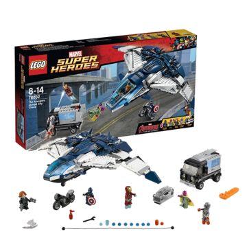 Конструктор Lego Super Heroes 76032 Супер Герои Погоня на Квинджете Мстителей