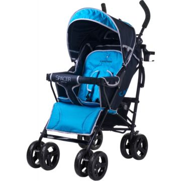 Коляска-трость Caretero Spacer Deluxe (blue)