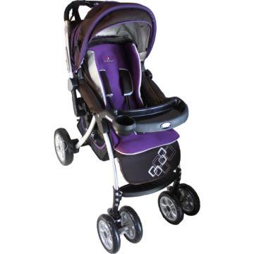 Коляска-трансформер Forkiddy Prima Lux (violet)
