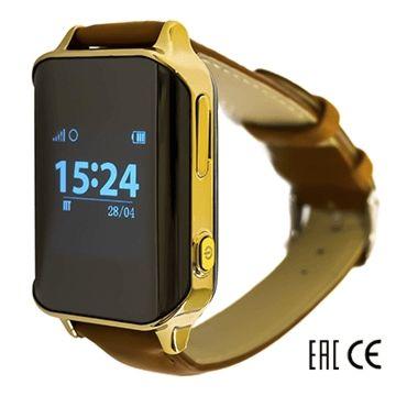 Часы с GPS-трекером SmartBabyWatch D100 (золотые)