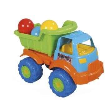 Машина Pilsan Toplu Power с шарами (зеленый)