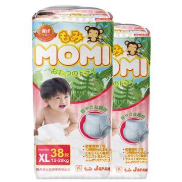 Подгузники-трусики Momi XL (12-20 кг) 38 шт.
