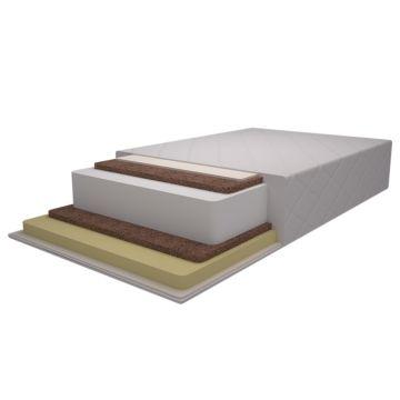 Матрас в кроватку Pituso Двойной бикокос+холлофайбер+латекс 125х65х12см P02CL