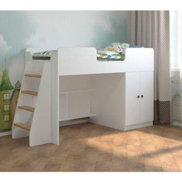 Игровая кровать Мебель Мечты (белая)