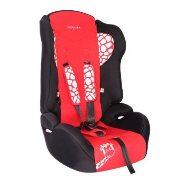 Автокресло Baby Care BC-513 Жирафик Люкс (красный)