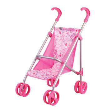 Коляска для куклы Gulliver 2211005 (Розовый)