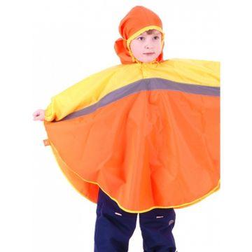 Дождевик детский Чудо-Чадо Светлячок (р.86-92) (Оранжевый-желтый)