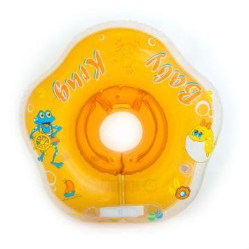 Круг для плавания Detoc Baby-Krug 3D (Жёлтый)