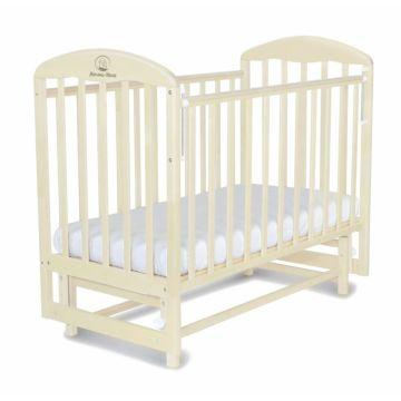 Кроватка детская Альма-Няня Милана (поперечный маятник) (орех)