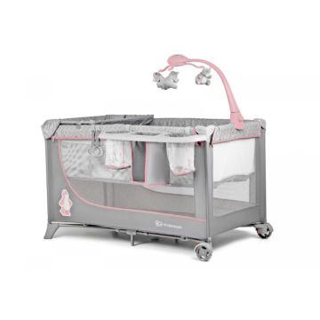 Манеж-кровать KinderKraft Joy (pink)