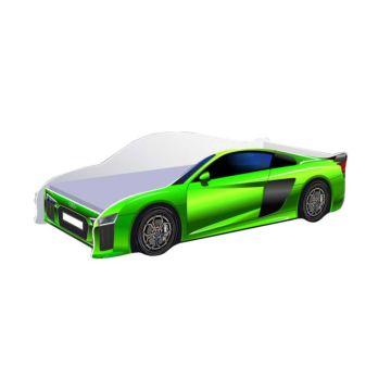 Кровать-машина Кроватка5 Ауди (зеленая)