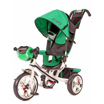 """Трехколесный велосипед Moby Kids Comfort 12/10"""" (Зеленый)"""