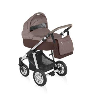Коляска 2 в 1 Baby Design Dotty Original (коричневый)