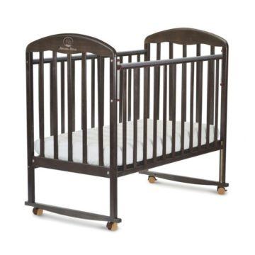 Кроватка детская Альма-Няня Венеция (качалка-колесо) (венге)