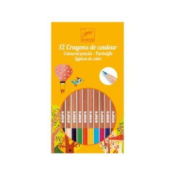 Набор карандашей Djeco (12 штук)