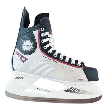 Хоккейные коньки PROFY LUX 3000 red
