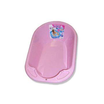 Детская ванночка Plastic Centre Дельфин (Розовый)