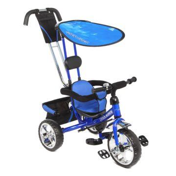 Трёхколёсный велосипед Capella Town Rider (Синий)