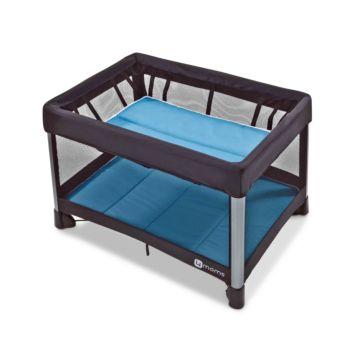 Манеж-кровать 4moms Breeze 2 (голубой)