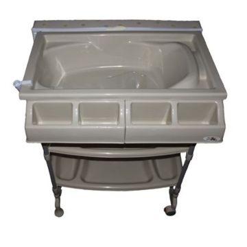 Пеленальный столик с ванночкой ForKiddy Bubble (beige)