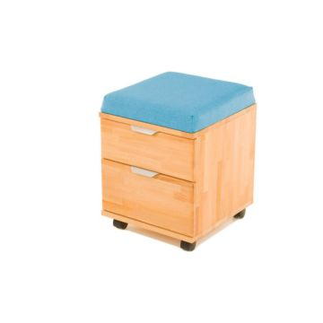 Тумба-пуфик Pondi (голубой)