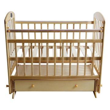 Кроватка детская Briciola 8 с поперечным маятником (светлая)