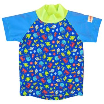 Футболка для купания ImseVimse Print (blue sea life)
