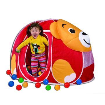 Детская палатка Calida с шарами Мишка