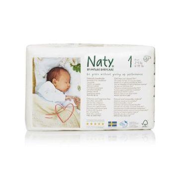 Подгузники Naty 1 (2-5 кг) 26 шт