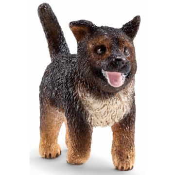 Немецкая овчарка щенок Schleich