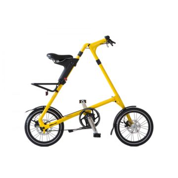 Велосипед складной Strida SD (2015) желтый