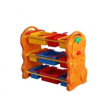 Этажерка с ящиками для игрушек Family F-823