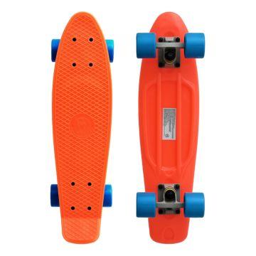 "Мини-круизер Fish Skateboards 22"" (оранжево-голубой)"