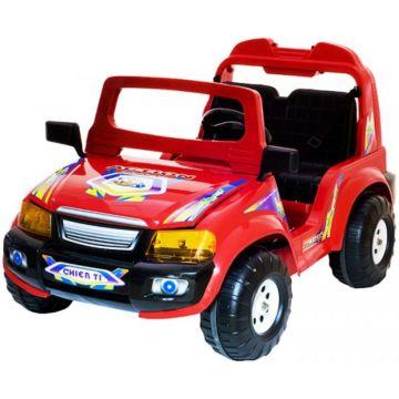 Электромобиль Chien Ti Touring с пультом управления (красный)