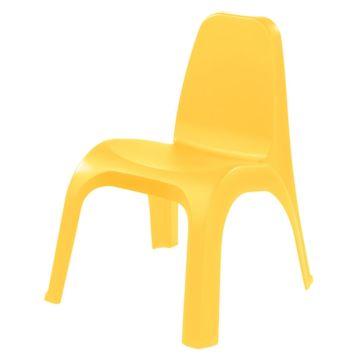 Стульчик детский Бытпласт Пластишка (Жёлтый)