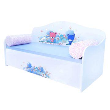 Кровать-диван Кроватка5 (Милые мишки)