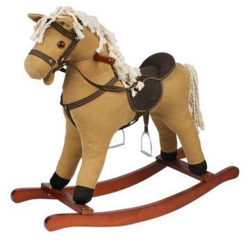 Качалка-лошадь Pituso Fandango (светло-коричневая)