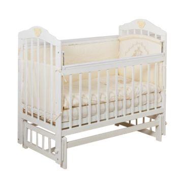 Кроватка детская Incanto Pali (продольный маятник) (белый)